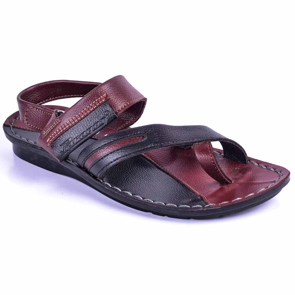 Paragon Maroon Slickers 08850 Slippers For Men