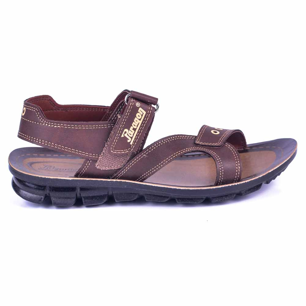 Paragon Brown Slickers 08885 Slippers For Men