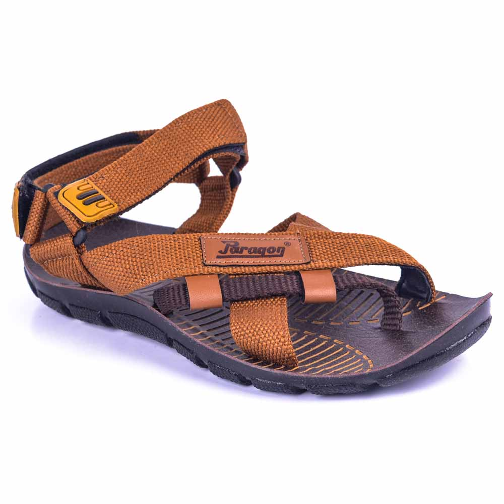 Paragon Brown Slickers 08910 Slippers For Men