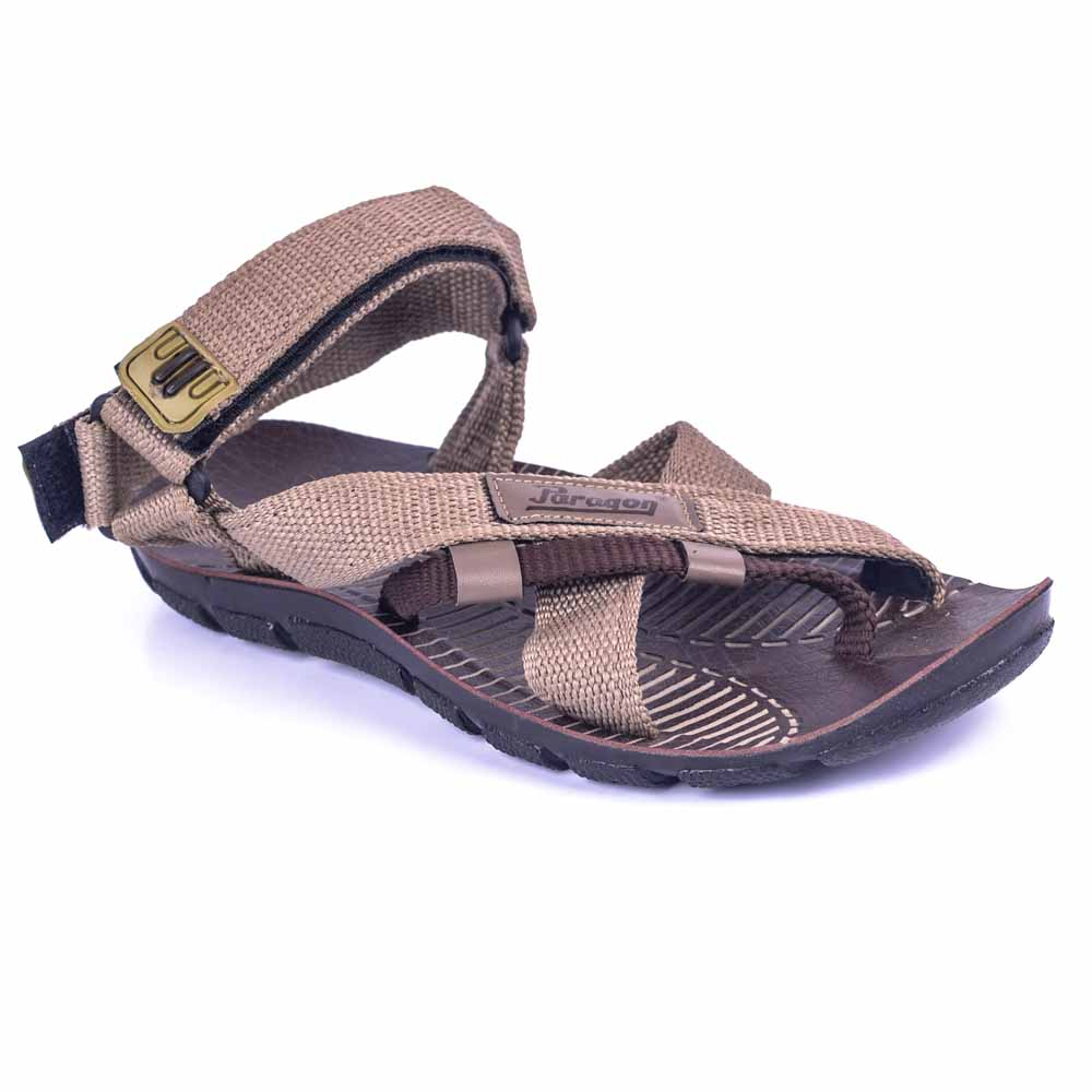 Paragon Gray Slickers 08910 Slippers For Men