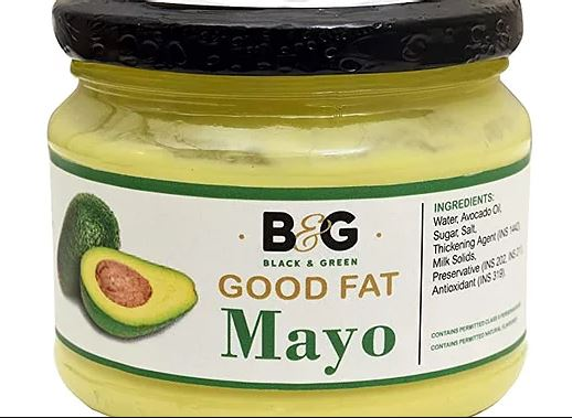 Black and Green's Extra Virgin Avocado Oil Good Fat Classic Mayonnaise - 220 gm