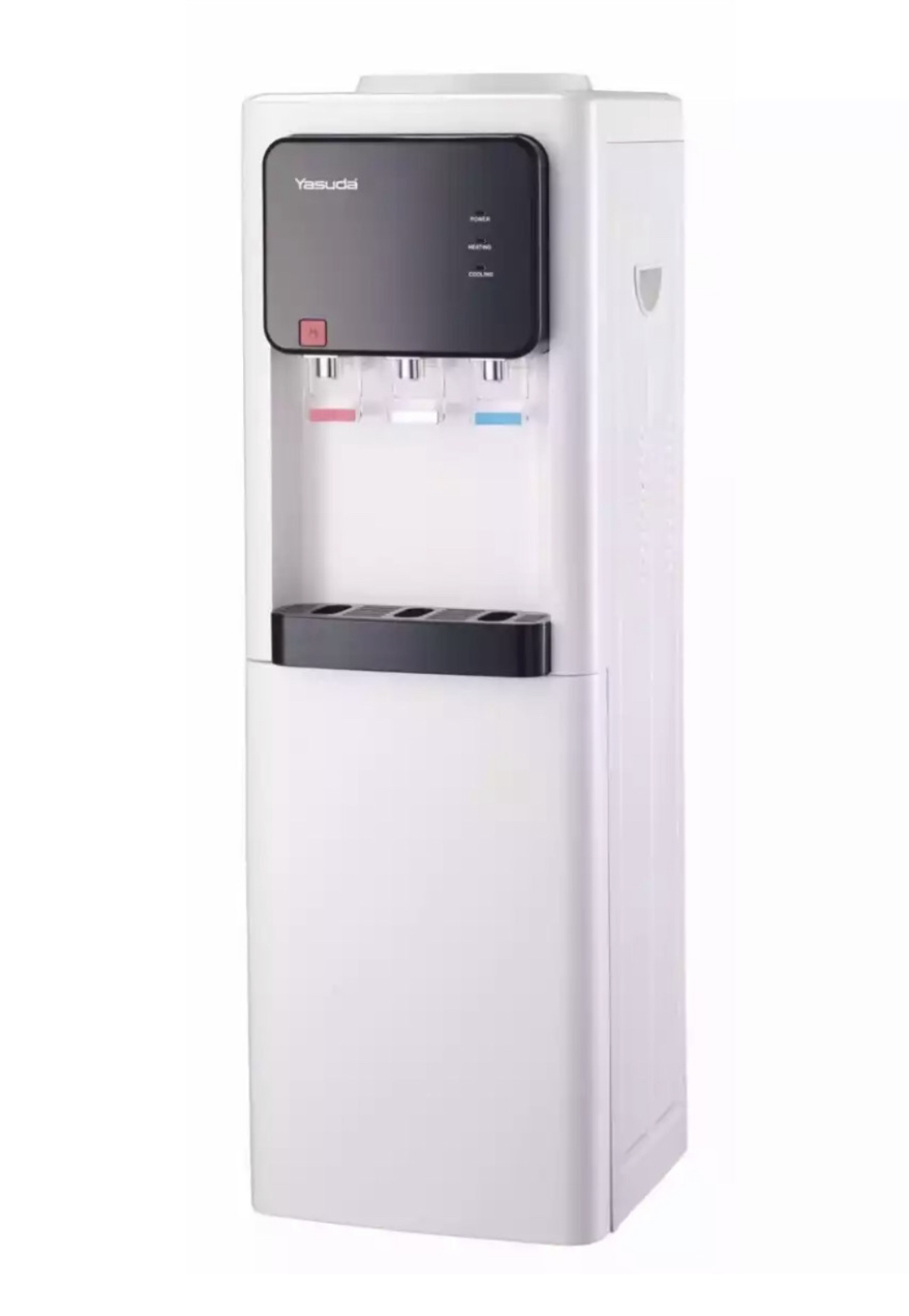 Yasuda Long Water Dispenser Hot, Normal And Cold With Bottle Cabinet