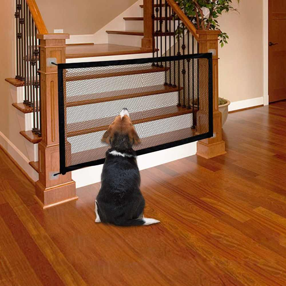 Magic Mesh Gate For Pet Dog N Cat