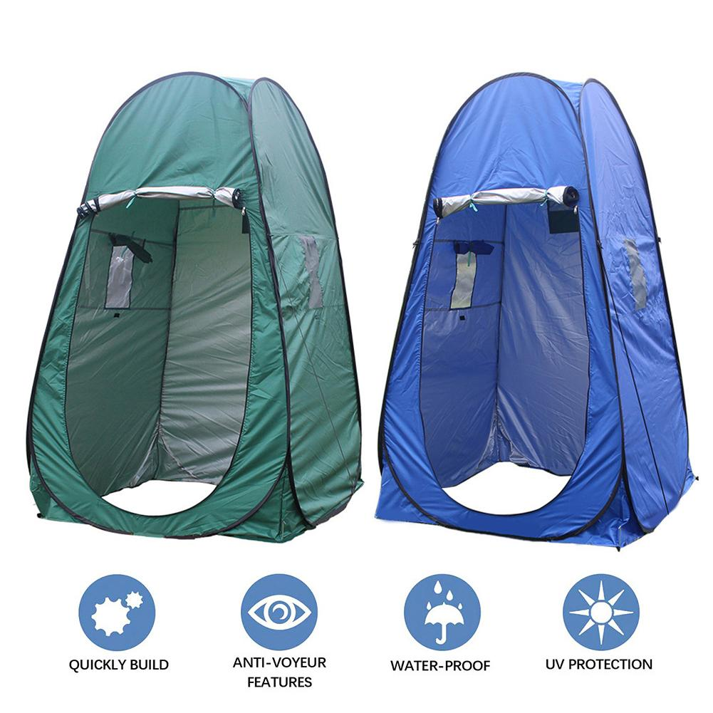 Camping Hiking Picnic Portable Toilet / Shower Cloth Pop-up Changing Tent