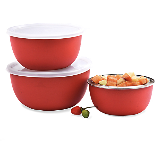 Famous Microwave Safe Euro Bowl 3 Pieces Set