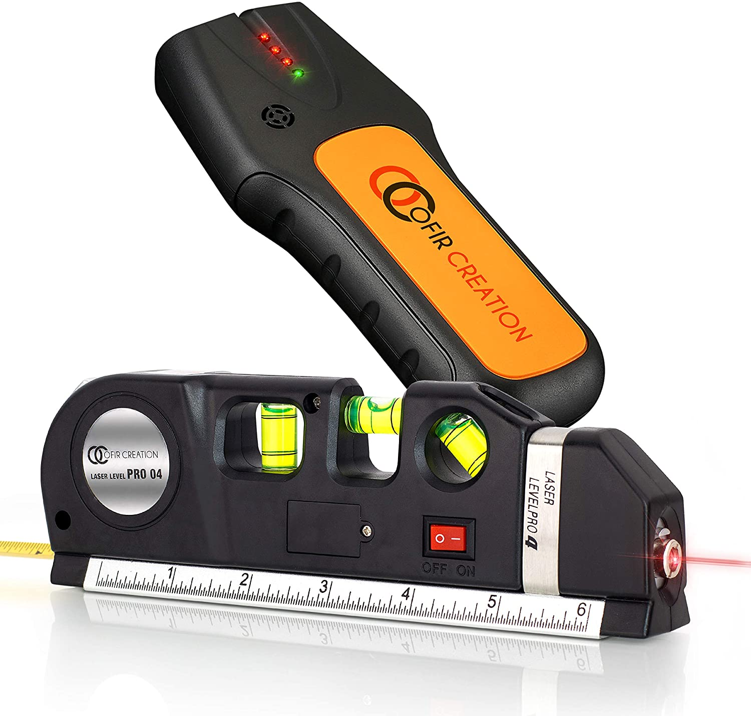 New Advanced Standard Laser Measurement Level Pro 3 with Bullt in Tape Mesaure