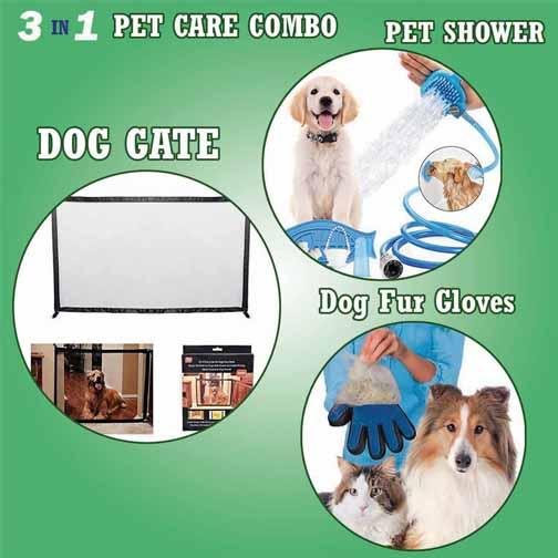 3 In 1 Pet Care Combo