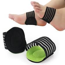 Foot Arch Support Plantar Fasciitis Heel Pain Aid Foot Run-Up Pad Feet Cushioned Cushioned Shoes Insole Sports