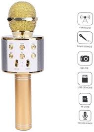 WSTER Ws-858 Wireless Bluetooth Hifi Karaoke Microphone