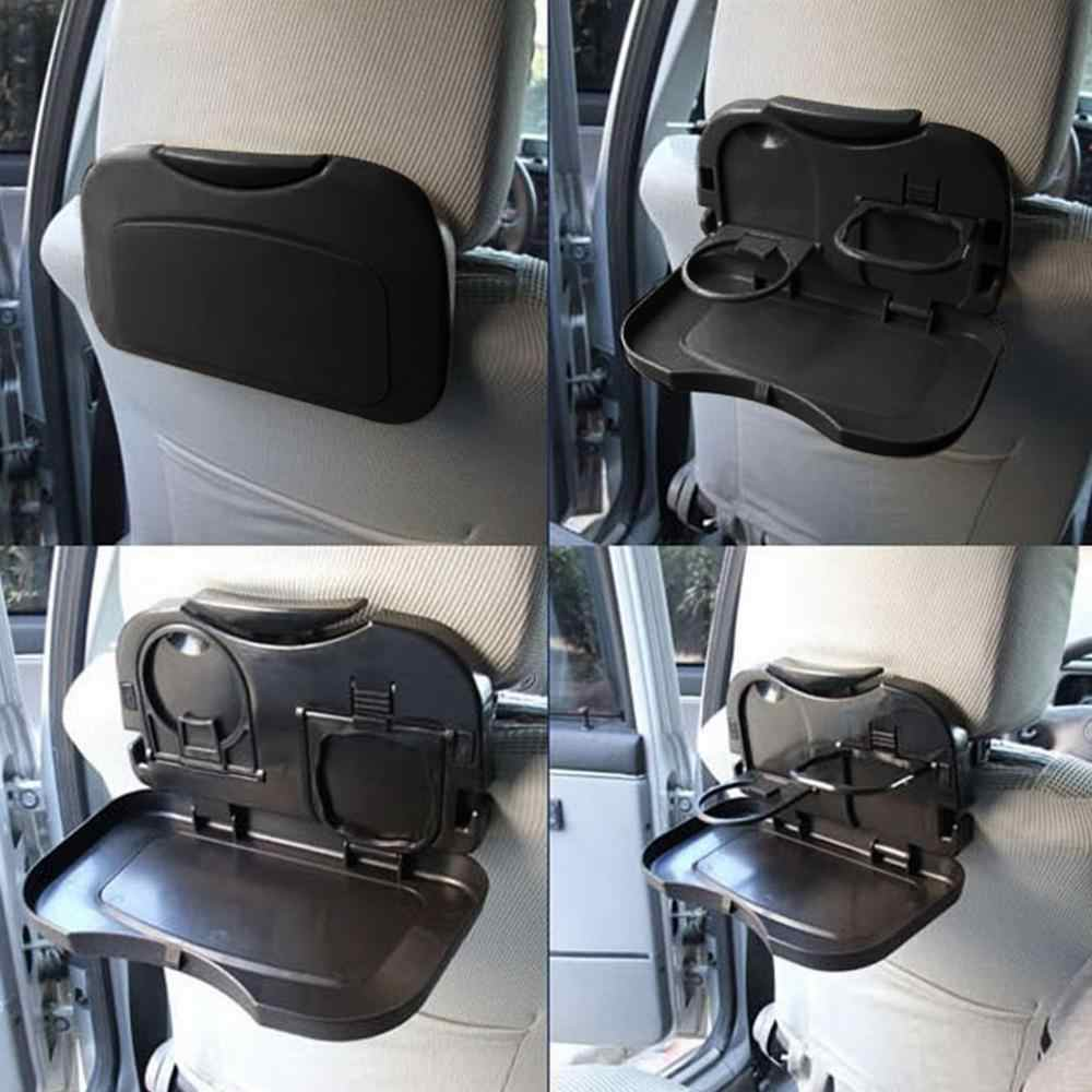 Folding Back Seat Tray Auto Water Beverage Holder Car Cup Holder