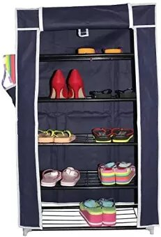 5 Layer Multipurpose Shoe Rack With Cover