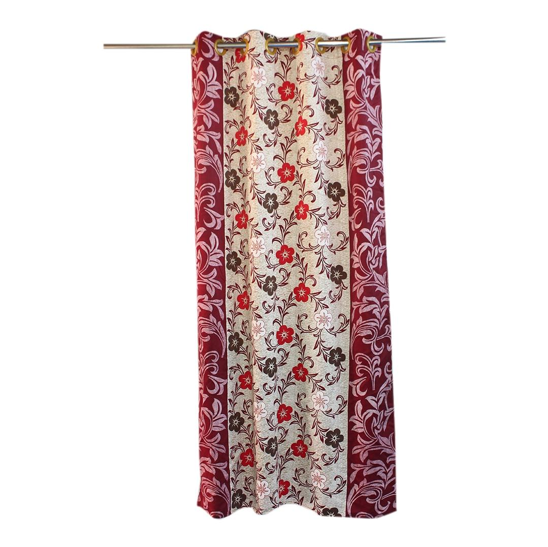 Printed Window Curtain 4Feet By 6.5Feet Pack Of 1 Curtain