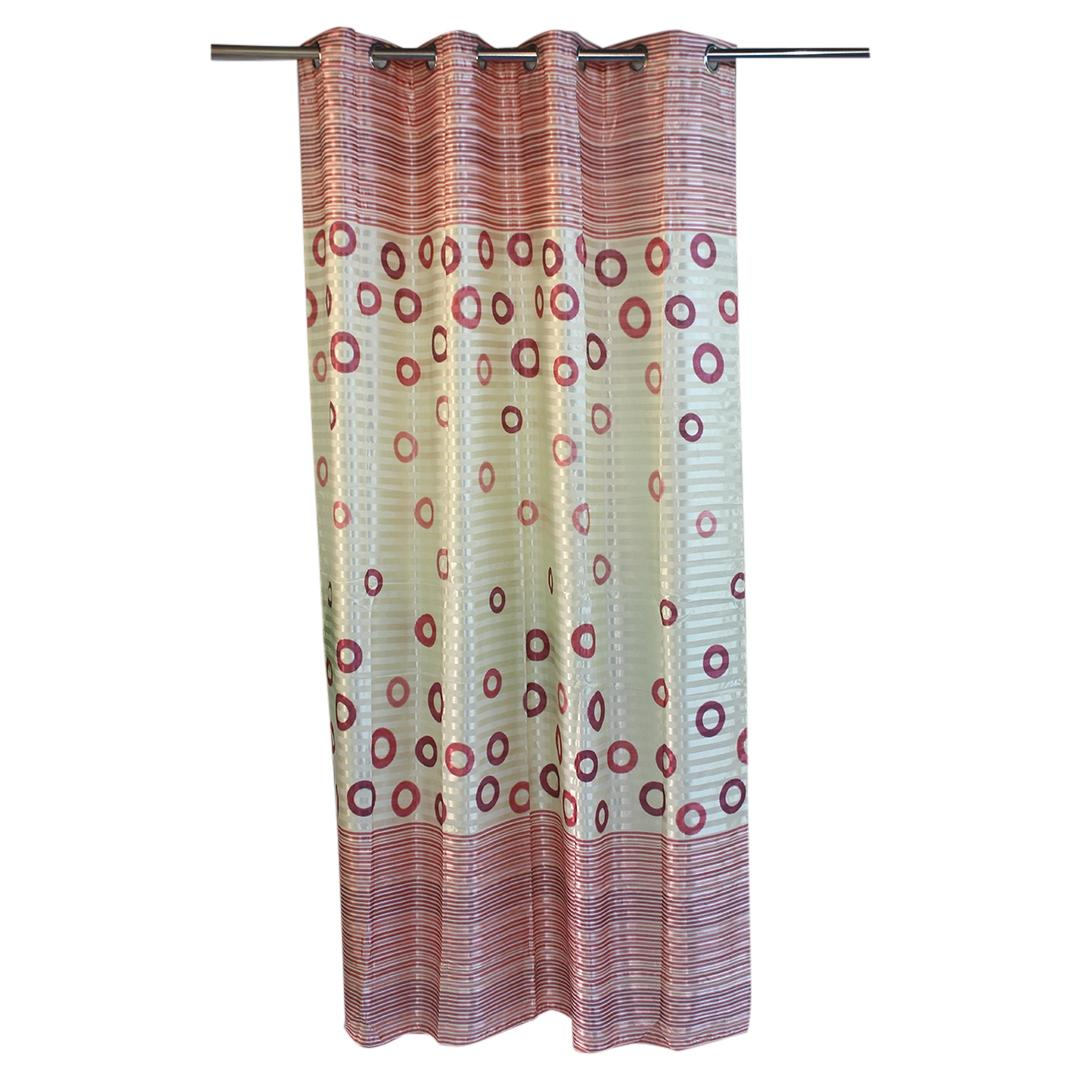 Berry Blackout Set Of 1Piece Window Curtains For Living Room And Bed Room