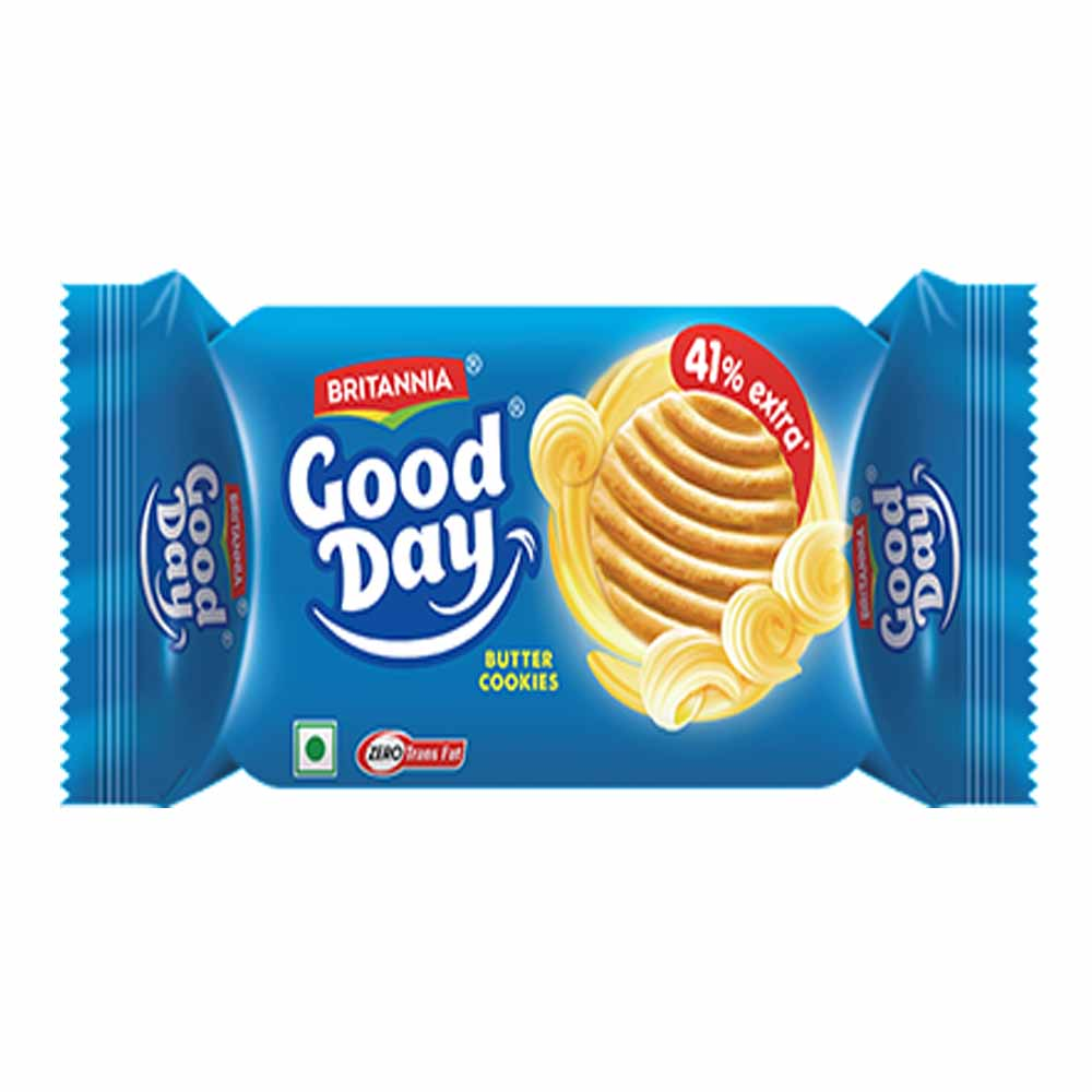 Britannia Good Day Butter Cookies - 33gm + 5gm