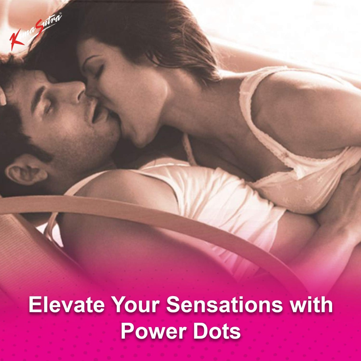 KamaSutra Dotted Condoms for Men - 12 Pcs.