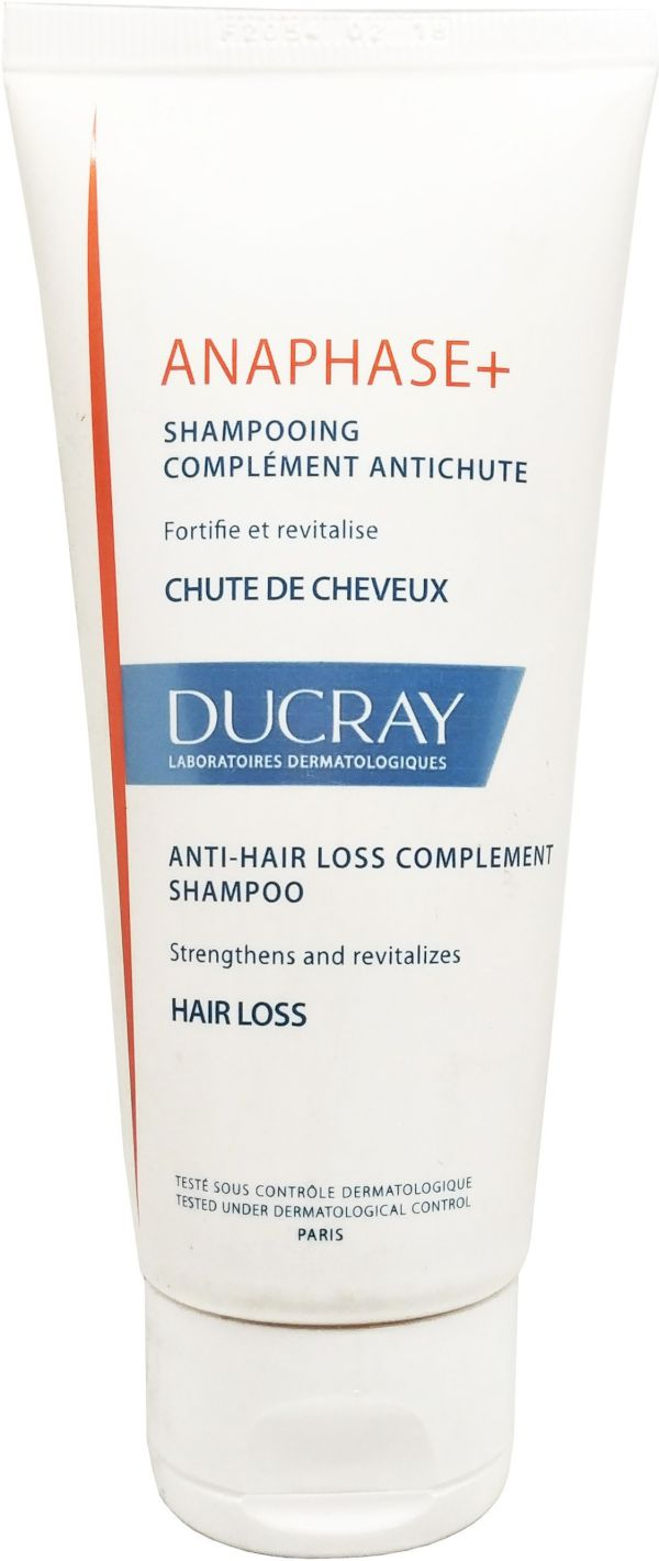 Ducray Anaphase+ Anti-Hair Loss Complement Shampoo Men & Women 100 Ml