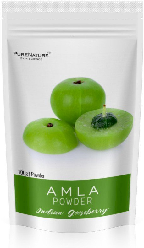 Pure Nature Natural Amla Powder-100, 100% Organic Powder. 100 G