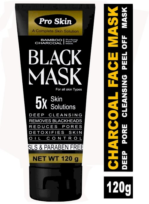 Pro Skin Bamboo Charcoal Peel Off Mask 120 G