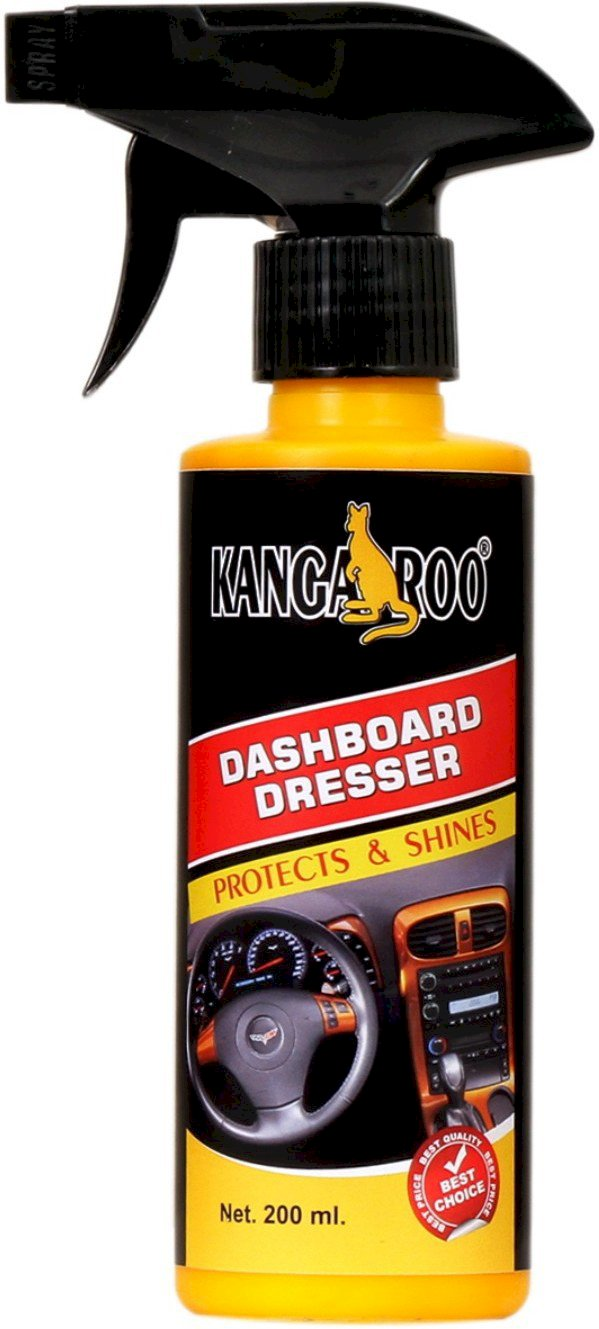 Kangaroo Dashboard Dresser Db23 Vehicle Interior Cleaner 200 Ml