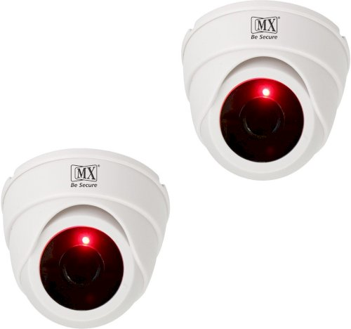 Mx 2Pcs Infrared Sensor Dome Wireless Security Camera Security Camera 1 Channel