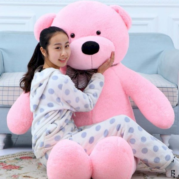 Ziraat 4 Ft Soft Pink Color Teddy Bear For Gift To Someone Special As 3  - 122 Cm Pink