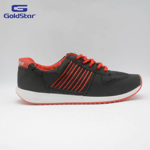 Goldstar Black / Red Sports Shoes For Women - GSL 100