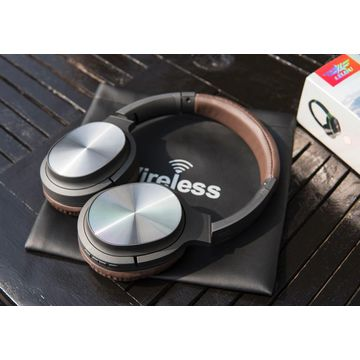 Lelisu LS-202 Wireless Headphones Foldable High Quality Long Life Battery Sound Supports Wireless Call Super Rich Sterio Bass
