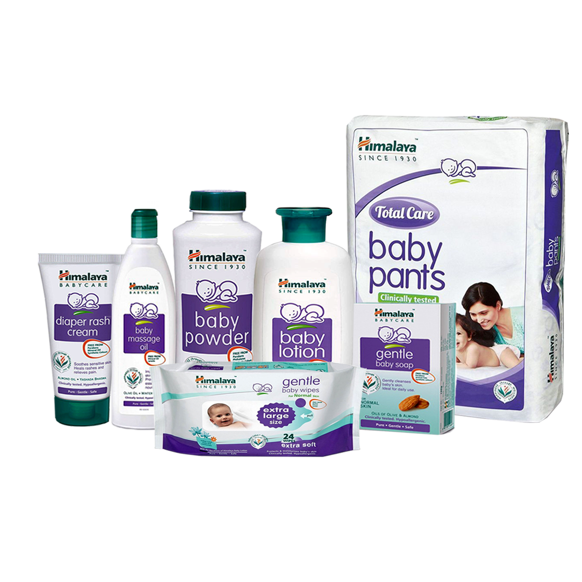 Himalaya Baby Care Gift Pack Basket