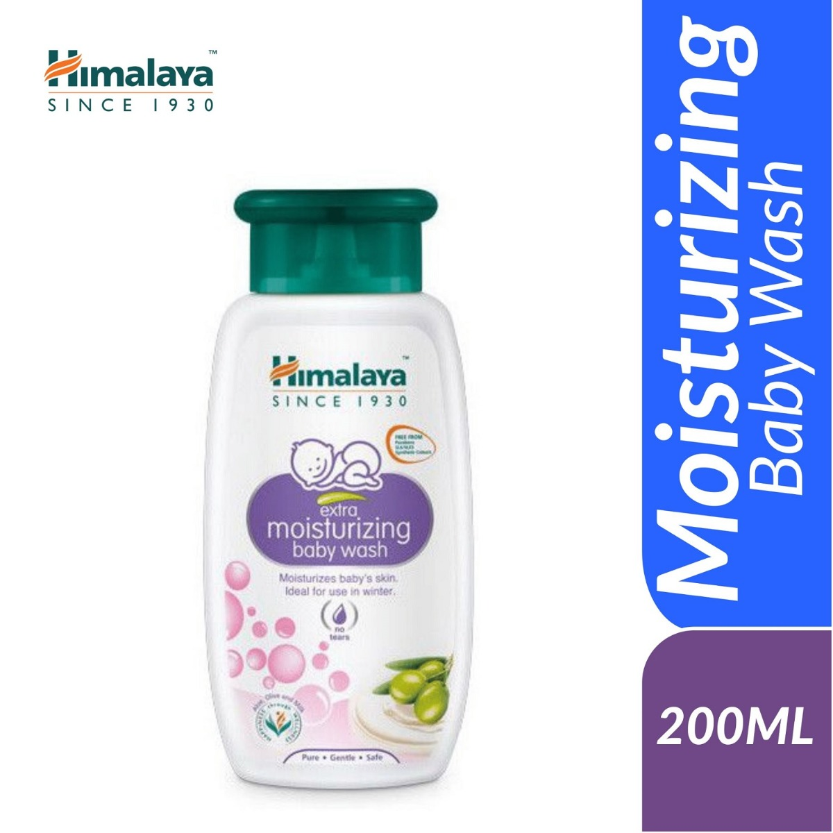 Himalaya Extra Moisturizing Wash 200ml