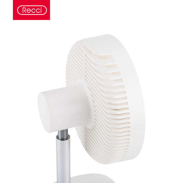 Recci RHF-J01 Desktop Fan Functioned with Rechargeable 2400 mAh Battery With 4 Gear to Control Speed