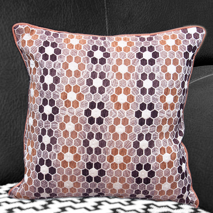 Set Of 5 Chenille Cushion Cover - 16 Inch X 16 Inch