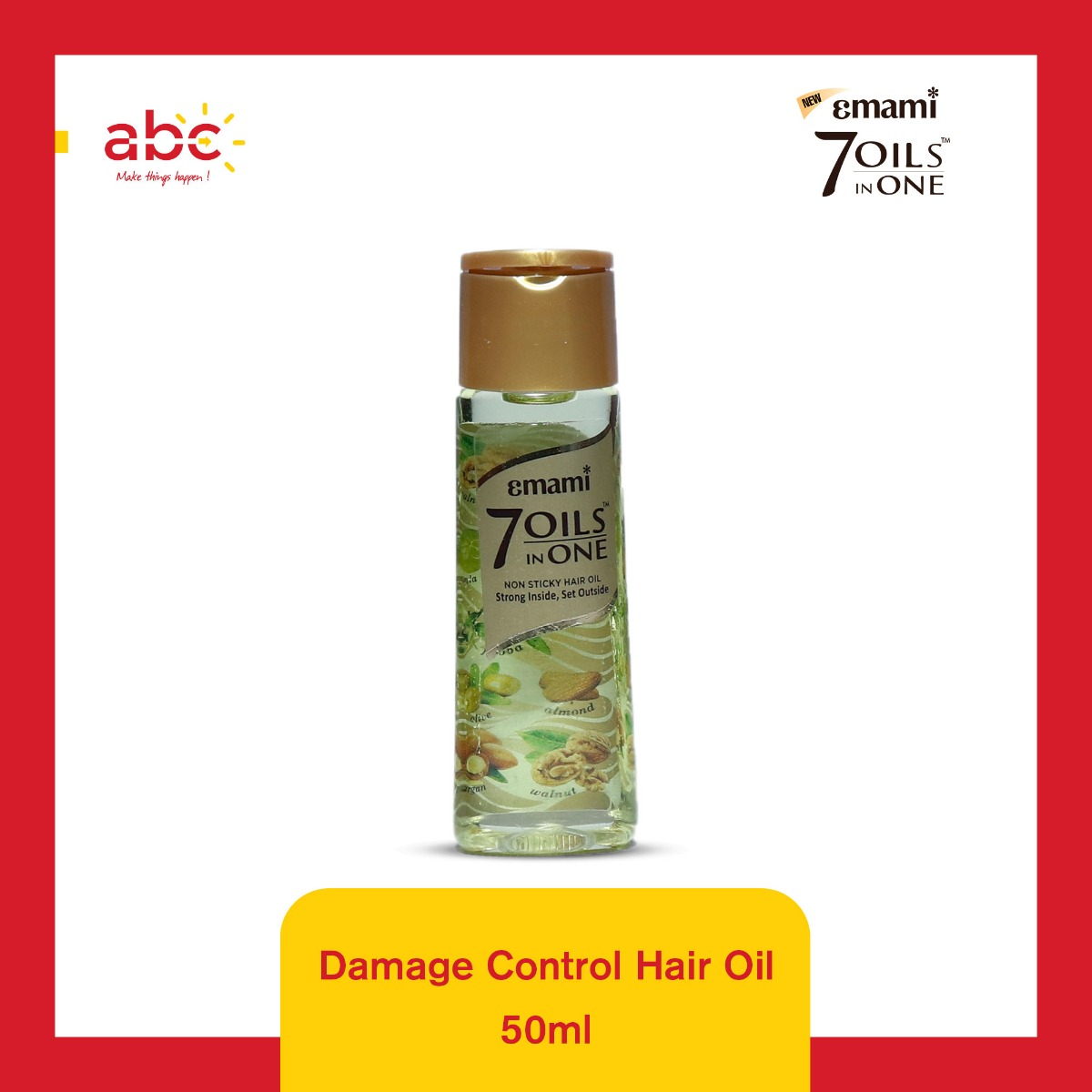 7 Oils In One Damage Control Hair Oil	50ML