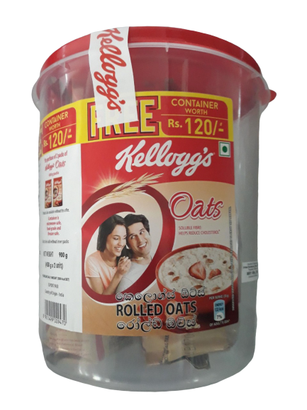 Kellogg's Heart to Heart Oats Jar  -900gm