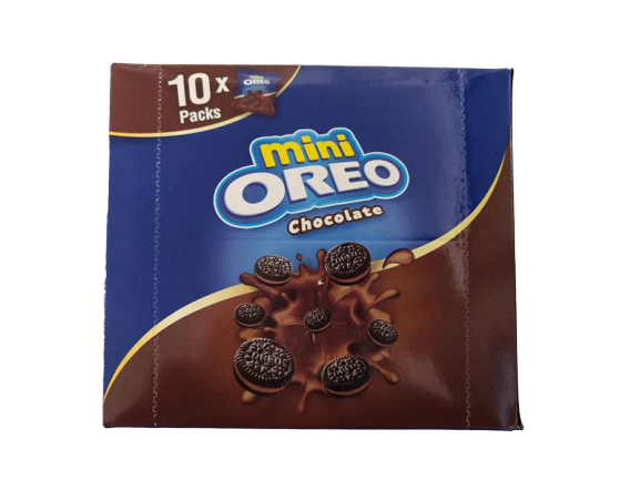 Mini OREO Chocolate 20.4gm x 10 Packs