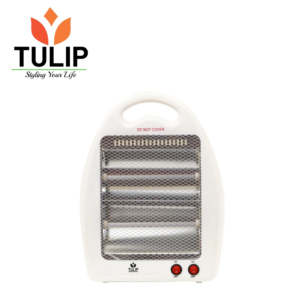 Tulip 800W 2 Tube Quartz Heater TQH-2A
