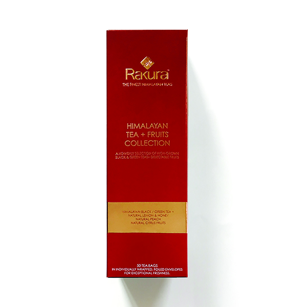 Rakura Himalayan Tea + Fruits Collection (50 Tea Bag)