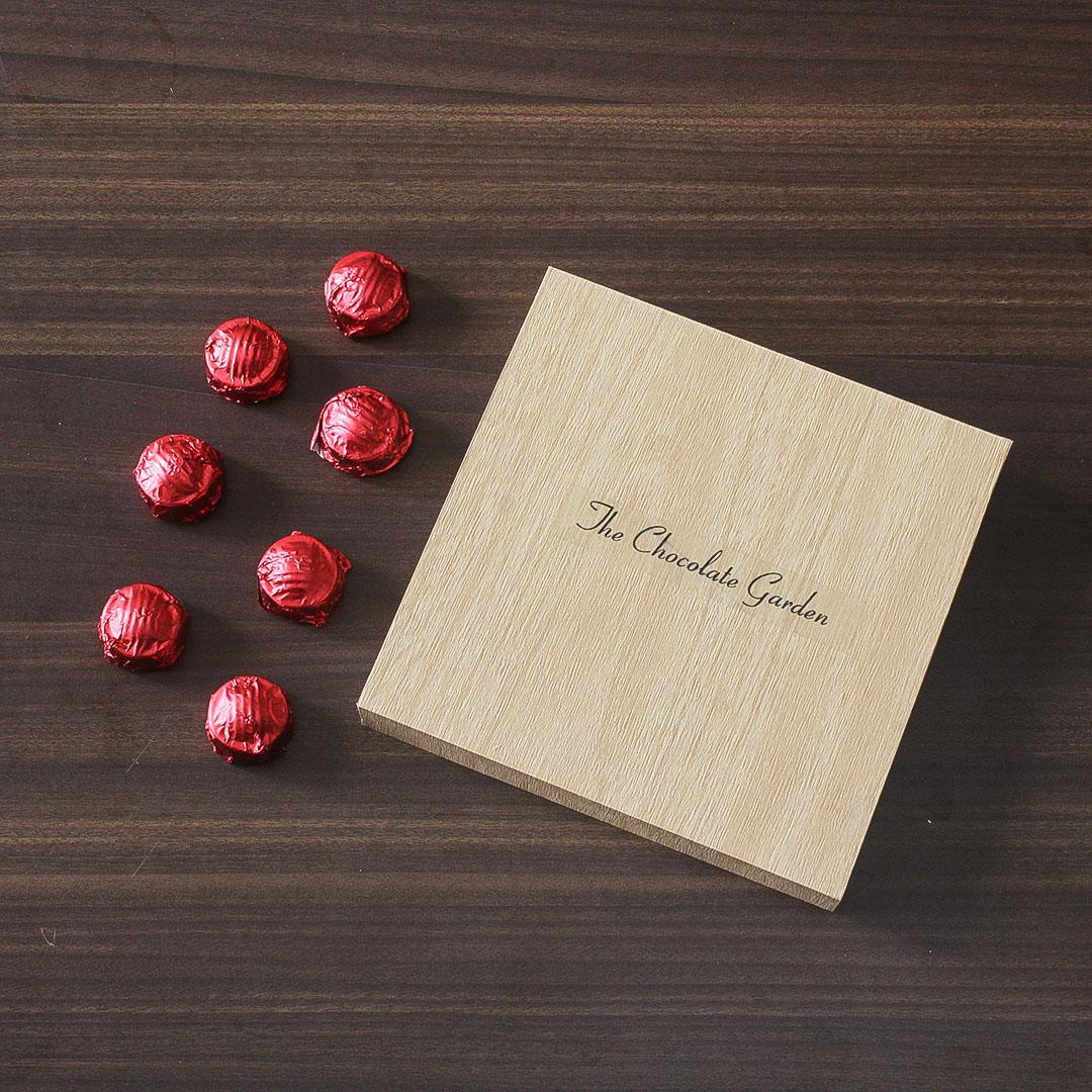 The Chocolate Garden Chocolates Box - 16 Pieces-Red