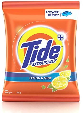 Tide Lemon Detergent Powder - 1Kg