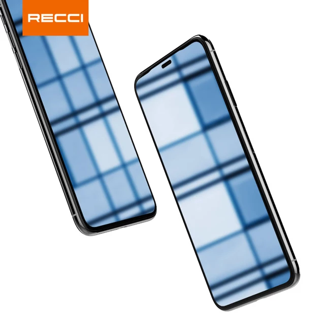 Recci Edge to Edge Full Curved 3D Screen Guard/Temper Glass For iPhone X/Xs