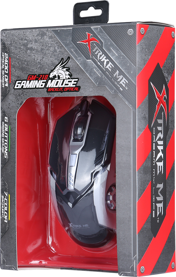 Xtrike Me GM-210 Gaming Mouse With Backlit And Optical