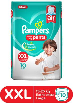 Pampers XXL 10s Diapers Pants