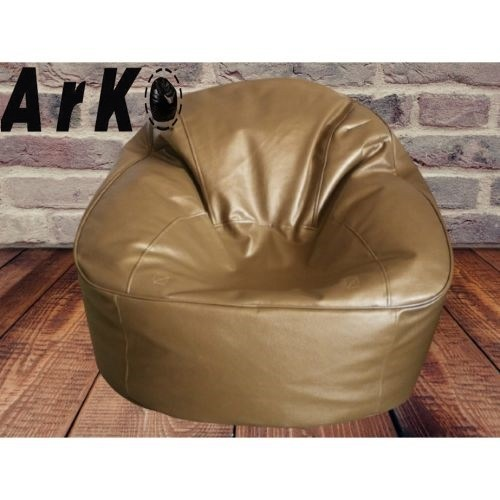 Xxxl Couch Bean Bag - Golden (with beans)